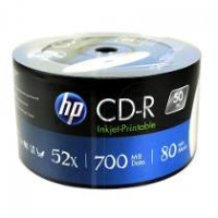 CD-R HP 700MB 80 MIN 52X